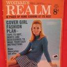 Vintage Feb. 22, 1969 Women's Realm Recipes Knitting Patterns