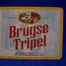Vintage Brugse Tripel Belgian Ale Lager Beer Coaster Souvenir