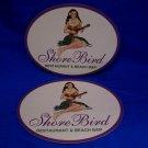 Gordon Biersch Beer Coaster Souvenir of Shore Bird Restaurant & Beach Bar Hawaii