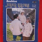 Beehive Aran Knits Knitting Patterns Family Sweaters Coats Vests etc.