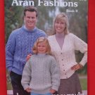 Mary Maxim Aran Fashion Knits Knitting Patterns Family Sweaters Cardigans Pullovers etc.