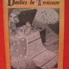 Vintage Crochet Pattern Magazine Doily Doilies To Treasure