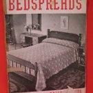 Vintage 1938 Crochet Pattern Magazine Bedspreads