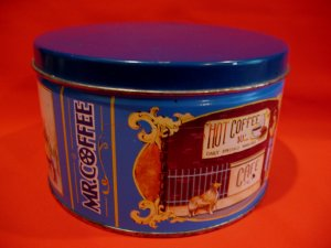Vintage Mr. Coffee Tin Limited Edition Souvenir Collector Tin