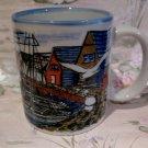Otagiri Fishing Village Sailboats Seagulls Coffee Tea Mug Cup