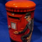 Churchill's Heritage of England Candy Tin Money Post Box POSTMAN Souvenir Collector