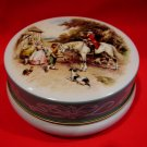 Vintage Riley's Rileys Toffee Candy Tin English Countryside Horse Souvenir Collector