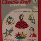 Vintage 1958 Chenille Kraft Pipe Cleaner Art Pattern Magazine 350 Projects