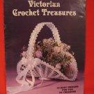 Victorian Crochet Treasures Pattern Magazine 18 Patterns Frames Baskets Dolls etc