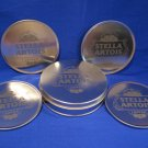Stella Artois Beer Coaster set of 4 Metal anno 1366 Leuven Souvenir