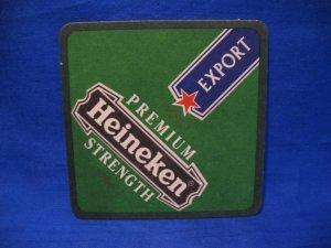Heineken Export Beer Coaster Souvenir