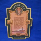 Abbot Ale Beer Greene King United Kingdom Brewery Beer Coaster Souvenir