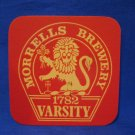 Morrells Brewery 1782 Varsity United Kingdom Beer Coaster Souvenir