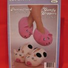 Patons Slippers Knitting and Crochet Pattern Family Pigs Cows Jungle Fever