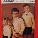 Sunbeam Bainin Knittings Aran Sweaters Knitting Pattern Children