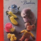 Beehive Bazaar Gifts Knitting Crochet Patterns Tea Cosies Slippers Tissue Roll Covers Dog Coats