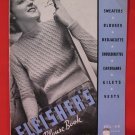 Vintage Fleisher 1937 Knitting Crochet Pattern Magazine Gilets Blouses Sweaters Bedjackets