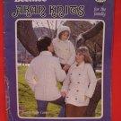 Beehive Arran Aran Fisherman Knits Sweaters Knitting Pattern Family