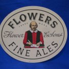 Flowers Fine Ales Flower & Sons United Kingdom Beer Coaster Souvenir