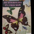 Vintage 1951 Crochet Pattern Magazine Butterfly Hat Gloves Hankies Doilies etc