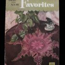 Vintage 1950 Crochet Pattern Magazine Doilies Doily Tablecloth Bedspread Chair Set etc