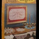 Vintage 1956 Crochet Pattern Magazine Doily Doilies Place Mats Buffet Scarf Chair Set