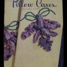 Vintage 1950 Crochet Pattern Magazine Pillow Cases Edgings