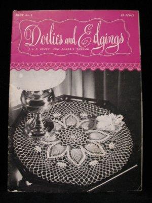 Vintage Crochet Pattern Magazine Doily Doilies Edgings Place Mats Lingerie Edges etc.