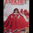 Annie's Crochet Newsletter Patterns Backpack Pencil Case Cheerleader Doll Cow Slippers etc