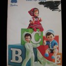 Beehive Just For Dolls Baby Barbie Knitting Patterns Coat Hat Pants Bootees Dress Skirt etc