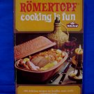 Vintage Romertopf Cooking Clay Bake Baker Cookbook 400 Recipes