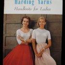 Vintage Harding Yarns Handknits Knitting Patterns Ladies Sweaters Cardigans Coat Suit Pullover