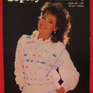 Copley Chorus Chunky Pullover Ribbon Slot Sweater Knitting Pattern Ladies
