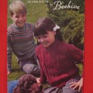 Patons Aran Pullover Sweater Hockey Sets Suits Knitting Patterns Children