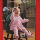 Patons Beehive Layette Sweaters Bootees Carriage Set Knitting Patterns Baby