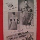 Vintage Mary Maxim Northern Stars Cardigan Sweater Knitting Pattern Adults