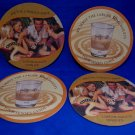 Baileys Beer Coaster Souvenir set of 4