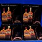 Appleton Estate Jamaica Rum Beer Coaster Souvenir set of 4