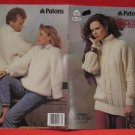 Aran Arran Fisherman Knits Knitting Pattern Sweaters Skirt Adults