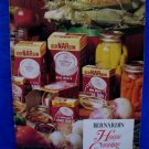 Bernardin Home Canning Guide Preserving Foods Cookbook Recipes