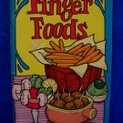 Finger Foods Cookbook Recipes Vintage Collector