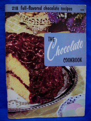 Vintage 1955 Chocolate Cookbook Recipes Culinary Arts Institute