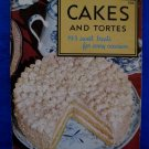 Vintage 1957 Cakes and Tortes Cookbook Recipes Culinary Arts Institute