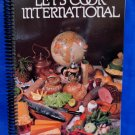 Let's Cook International Canadian Red Cross Society Cookbook Recipes