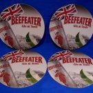 Beefeater Gin & Tonic British Beer Drink Coaster Souvenir set of 4