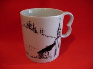 Home Oil Stations Gas Souvenir Nicola Church BC. Coffee Tea Cup Mug