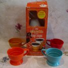 Vintage Solo Dispenser Refills for Cozy Cups with 4 Retro Cozy Cup Holders