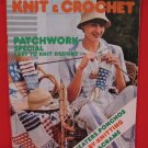 Mon Tricot Knit Crochet Pattern Magazine Build Yourself a Loom Macrame etc