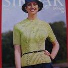 Vintage Sirdar D.K. Jumper 4 Ply Jumper Sweater Knitting Pattern Ladies Mens Sizes 32 - 38