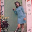 Retro Emu 4 Ply or Double Knitting Pattern Girls Jumper Skirt Socks Sizes 26 - 34 Inches